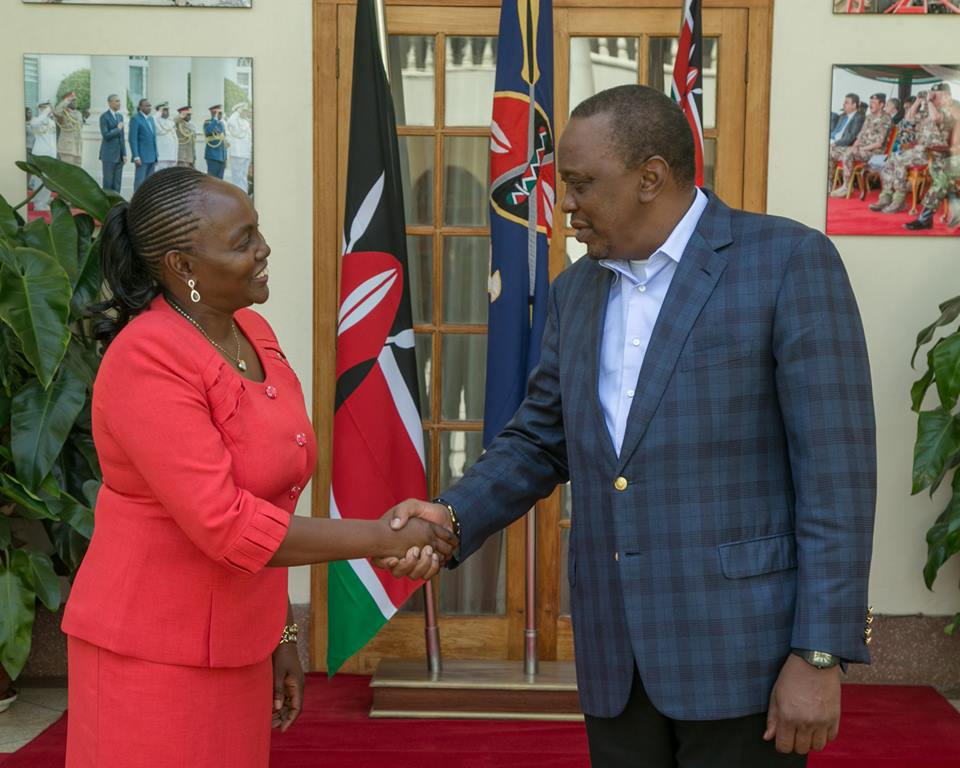 Lucy Gichuhi with Uhunye